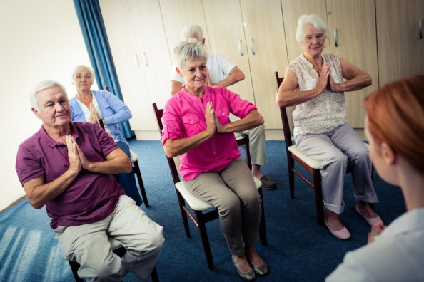 Seated Exercises for Seniors With Limited Mobility